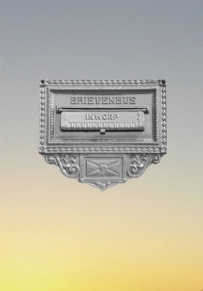 Briefkasten -  Mauerplatte